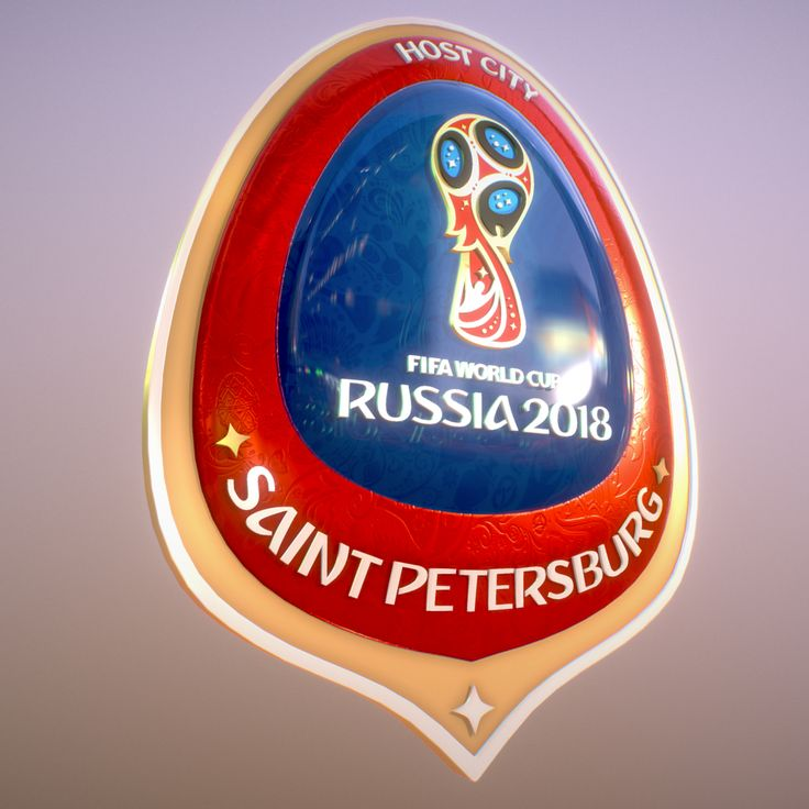 Saint-Petersburg Host City Russia 2018 Symbol 3D Model- Saint-Petersburg Host City Russia 2018 Symbol  All 3d file format included: 3dsMax2016, Maya2016, OBJ, FBX file. 2x4K texture size.   Official symbol World Cup Russia 2018 host city !!!!!!!, a beautiful 3D model of the corporate style of the championship. Ready for use in graphics and video presentations, also for making souvenirs and gifts. Includes all the 3d formats, textures, materials. Rate and leave comments. Thank you…