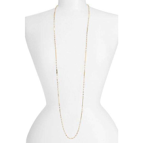 Women's Nordstrom Bar Station Necklace ($35) ❤ liked on Polyvore featuring jewelry, necklaces, polka dot jewelry, dot necklace, polka dot necklace, nordstrom jewelry and chain link necklace