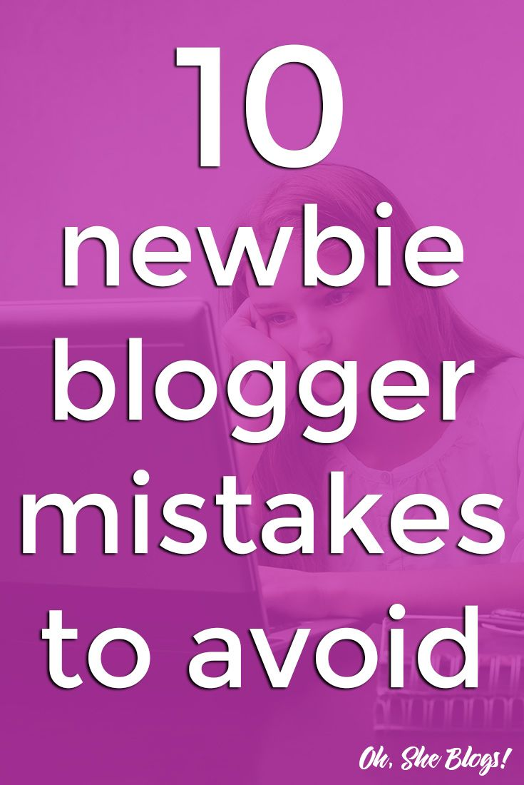Starting a blog is easy. Once you choose the perfect name, you could set up your blog in 10 minutes.  However, once the basics are done, here are the 10 new blogger mistakes that you'll want to try to avoid.