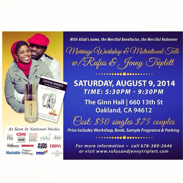 Join Us as we hit the West Coast! Oakland, CA...stand up...:) For more information go to www.rufusandjennytriplett.com