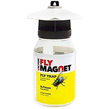 Amazon.com : Victor M380 Fly Magnet Reusable Trap with Bait : Home Pest Control Traps : Patio, Lawn & Garden