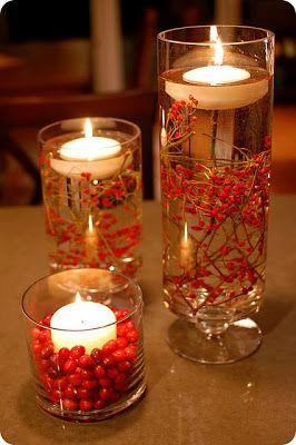 Luci natalizie con riciclo creativo di bicchieri e barattoli