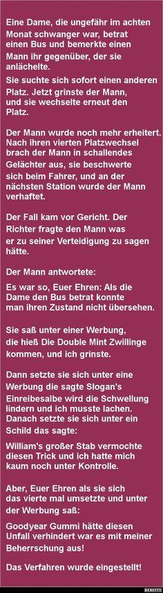 Eine Dame, die ungefähr im achten Monat schwanger war..   DEBESTE.de, Lustige Bilder, Sprüche, Witze und Videos