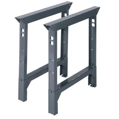 Edsal 33 in. Adjustable Height Work Bench Legs-ABL36 at The Home Depot
