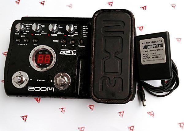Jual beli Zoom G2.1Nu Guitar Multi Effects 2nd di Lapak Muhammad Faizal - antzmusic. Menjual Gitar - Zoom G2.1Nu Guitar Multi Effects Pedal featurestypes dari drive didesain ulang Antarmuka USB memungkinkan perekaman langsung ke komputer Direct Mode yang optimal untuk direkam Panel LCD 1,9 inci yang besar mendukung antarmuka intuitif yang baru ZFX-3 menciptakan kembali karakteristik tabung amp Sampling 96kHz dan konversi A / D / A 24 bit 100 suara gitar preset + 100 patch pengguna 1...
