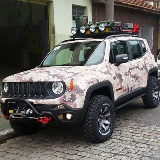 Customized Jeep Renegade In Brazil