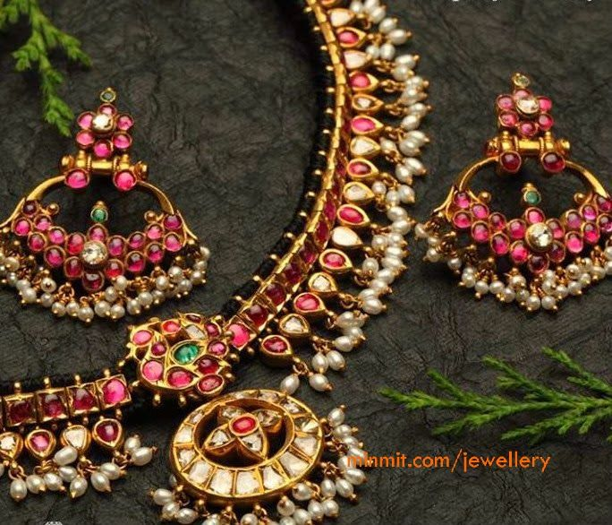 ruby jewellery from arnav