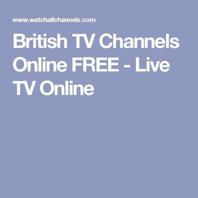 British TV Channels Online FREE - Live TV Online