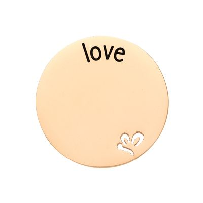 'Love' Statement Plate