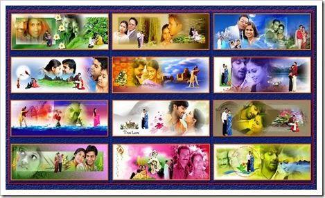 Create Wedding Album: Karizma Templates PSD files for wedding album