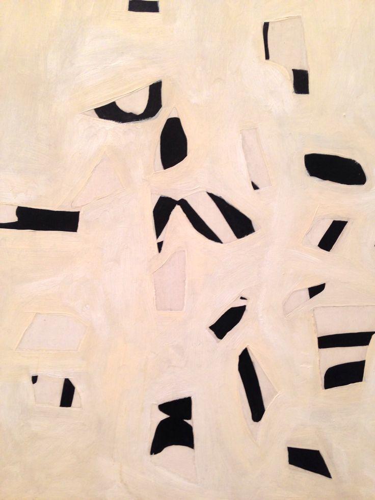 Ellsworth Kelly (detail) at the Philadelphia museum of art