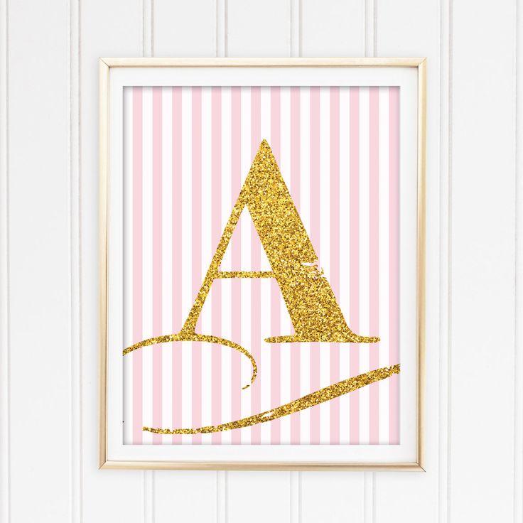 Un favorito personal de mi tienda de Etsy https://www.etsy.com/es/listing/555147773/letter-a-printable-art-gold-letter-a-for