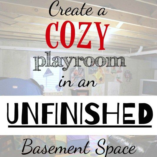 Cool Things To Put In A Basement: 17 Best Ideas About Unfinished Basement Playroom On