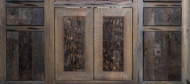 L & L Reclaimed Wood LLC. Reclaimed cabinets.