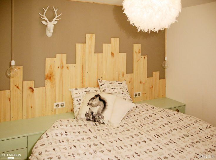 les 28 meilleures images du tableau chambre bois d co sur pinterest chambre bois deco. Black Bedroom Furniture Sets. Home Design Ideas