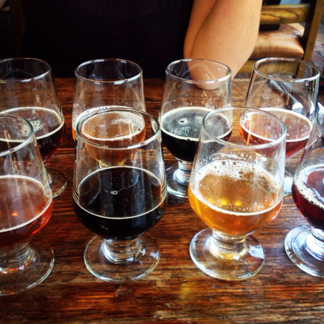 Stone Brewery Sampler.  Visit the new Stone Brewery Location at NTC Liberty Station