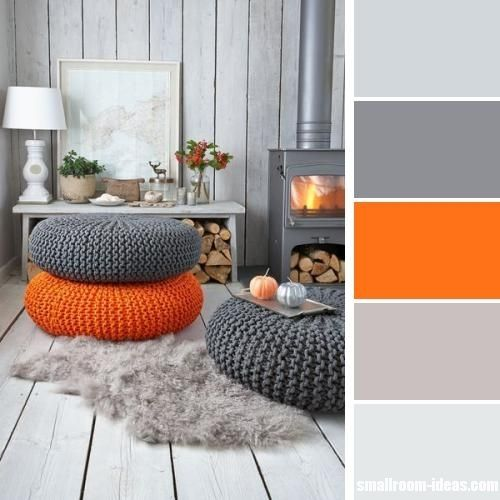 Image result for gray and orange decor