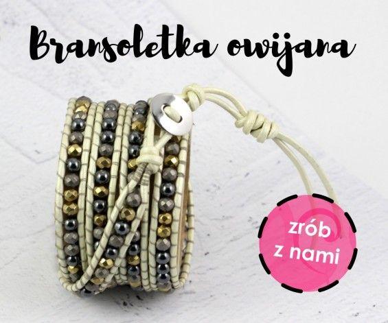 Wrap bracelet / bransoletka owijana