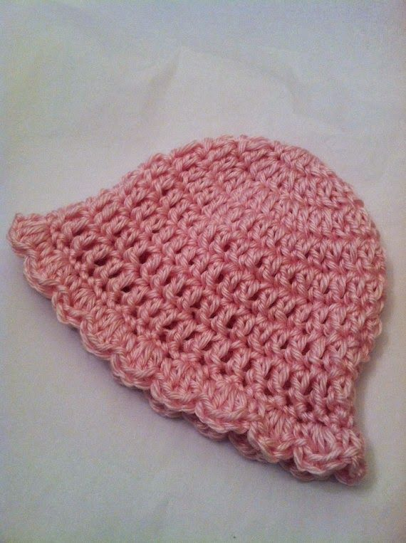 "Lakeview Cottage Kids: Another FREE PATTERN!!! ""Pink Lady"" Crochet Baby Hat!!!"
