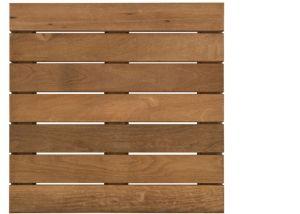 Ipé, Cumaru, Massaranduba Terrasses en bois dur carreaux