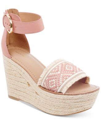 274bf845a209 Tommy Hilfiger Women s Terin Platform Wedge Espadrille Sandals ...