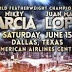 """★Starlite★ Boxing's Sweetscience©®™: HBO Boxing After Dark: Mikey Garcia vs. Juan Manuel Lopez""""Juanma"""" Lopez Saturday, June 15, at the American Airlines Center"""
