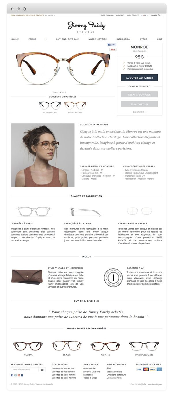 www.jimmyfairly.com by Julien Parrino, via Behance