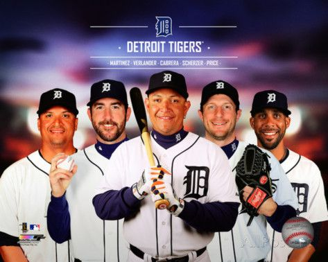 Detroit Tigers Players | Detroit Tigers 2014 Team Composite Photo at AllPosters.com