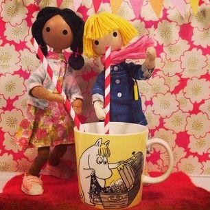 Windy & Mellow: moomin milkshake party! @windyandfriends