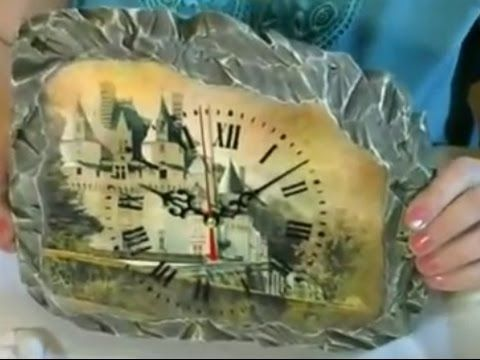 Ксения Свешникова Имитация природного камня, купюрница Итальянский дворик - YouTube