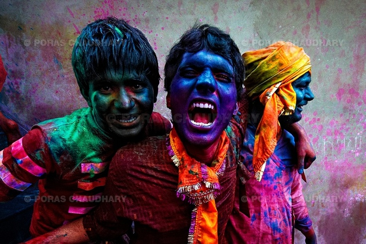 Holi - an excuse for men to misbehave in India.