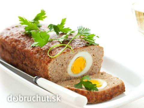 Fašírky plnené vajcami
