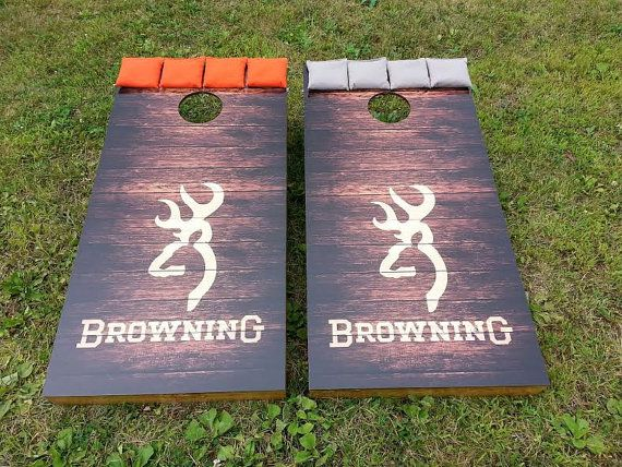 Browning Corn Hole Boards Bean Bag Toss