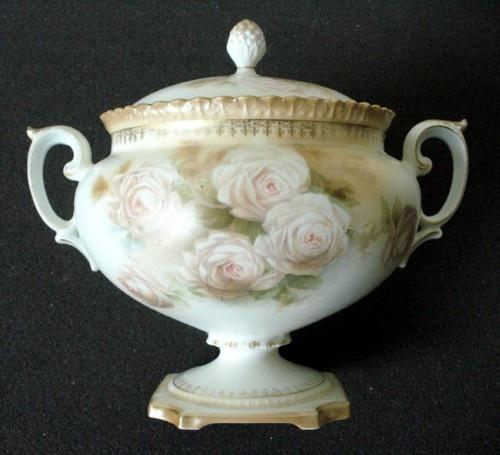 RS Germany biscuit jar, c. 1920.