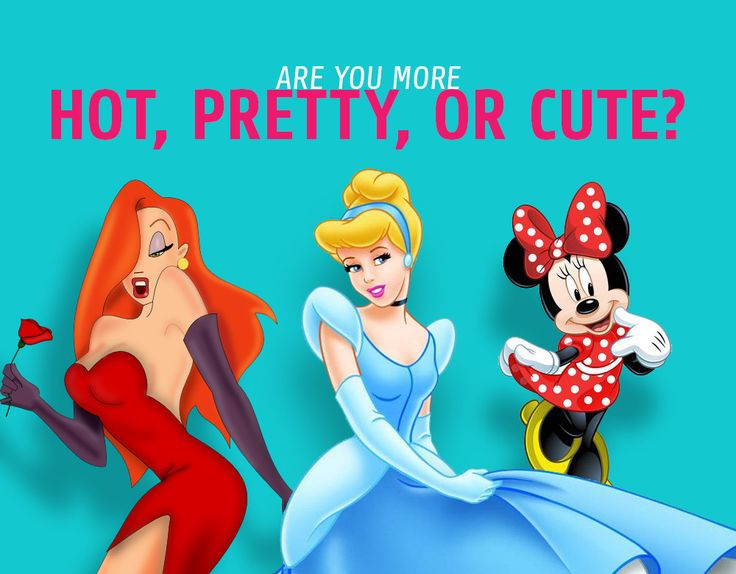 Are You Pretty, Hot, or Cute?  Take the Quiz!