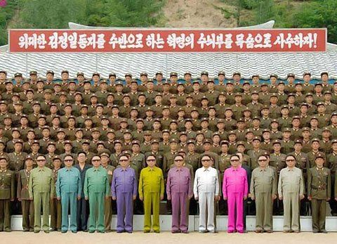 Uniform-Styling in #nordkorea