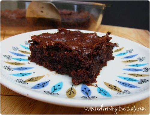 grain free zucchini brownies