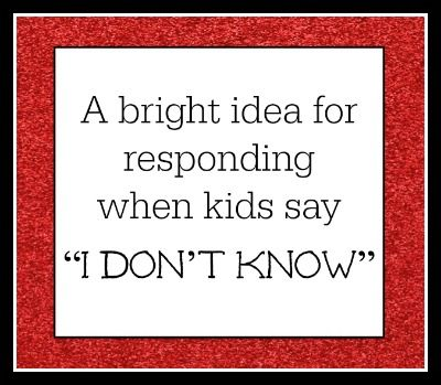 Great idea! This is such a common problem! From The Cornerstone for Teachers: @Angela Gray Watson