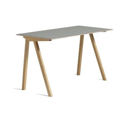 CPH 90 skrivbord, ek/grå i gruppen Möbler / Bord / Skrivbord hos RUM21.se (132051)