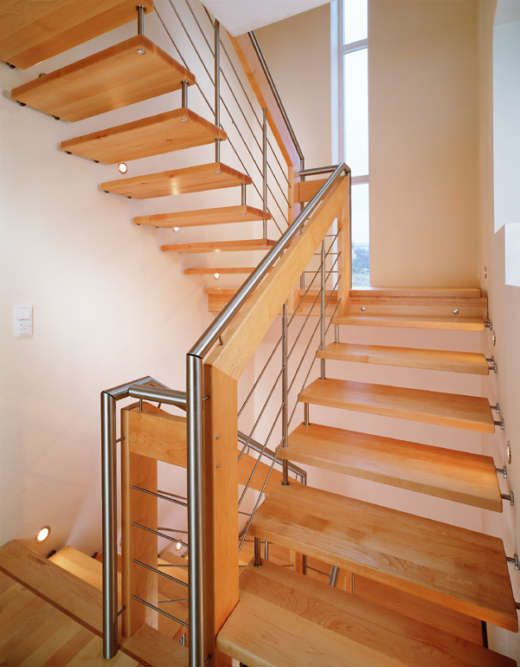 93 best stairs images on pinterest foyer staircase for Gorgeous modern staircase wall design