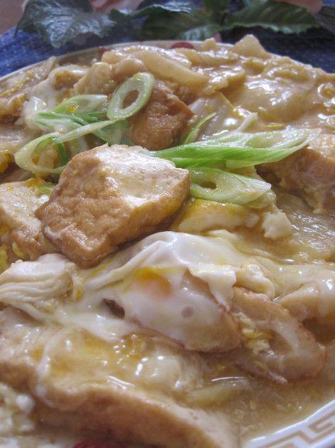 母の味♪白菜と厚揚げの卵とじ by miyuki12 [クックパッド] 簡単おいしいみんなのレシピが229万品