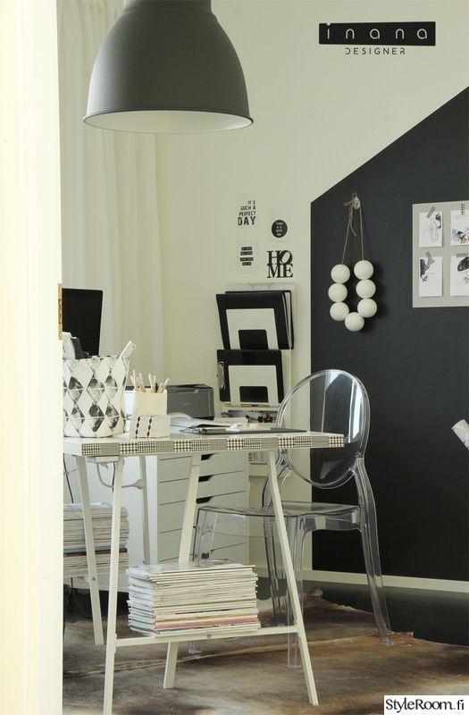 työhuone,maalattu seinä,järjestys,työpöytä,design