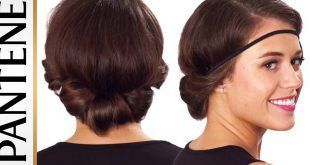 Coiffures pour cheveux courts avec serre-tête - #cutehairstyle #graduationhairstyle #hairstyledrawing #partyhairstyle -