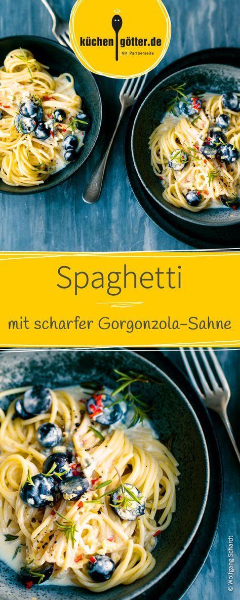 Elegant Ein absoluter Klassiker mal etwas anders zubereitet Leckere Spaghetti al dente mit einer cremig scharfen