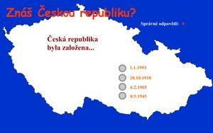 TEST - ZNÁŠ ČR???