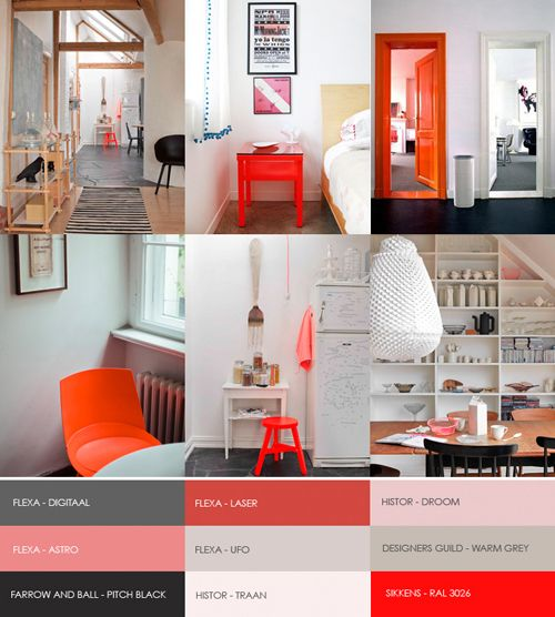 For kleurinspiratie.nl (a website about color trends and paint) I was asked to create a mood board about a color trend. You can see the result here. I choose hot orange as this one of the top colors this season. On kleurinspiratie.nl you can also read an interview with me. The website is in Dutch but of course you can use the Google translator if you would like to read it.