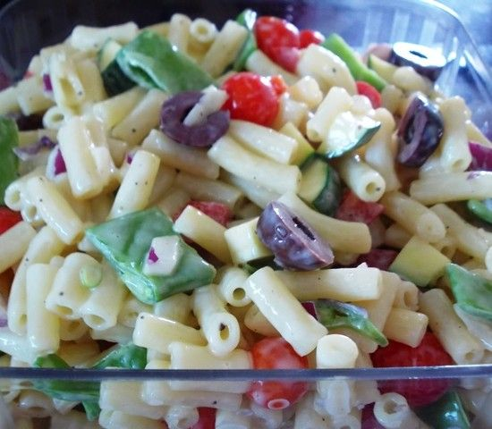 Your Inspiration at Home Macaroni Salad #YIAH #olive oil #vinegar  Don't forget to check out our website www.sharonking.yourinspirationathome.com.au