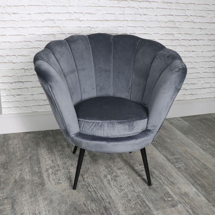 Grey Bedroom Chair