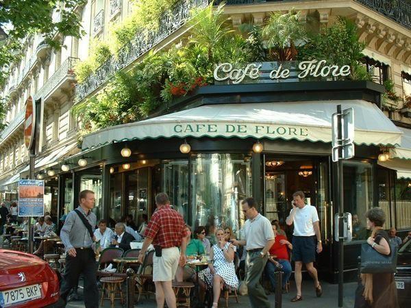 Кафе де Флор (Cafe de Flore)