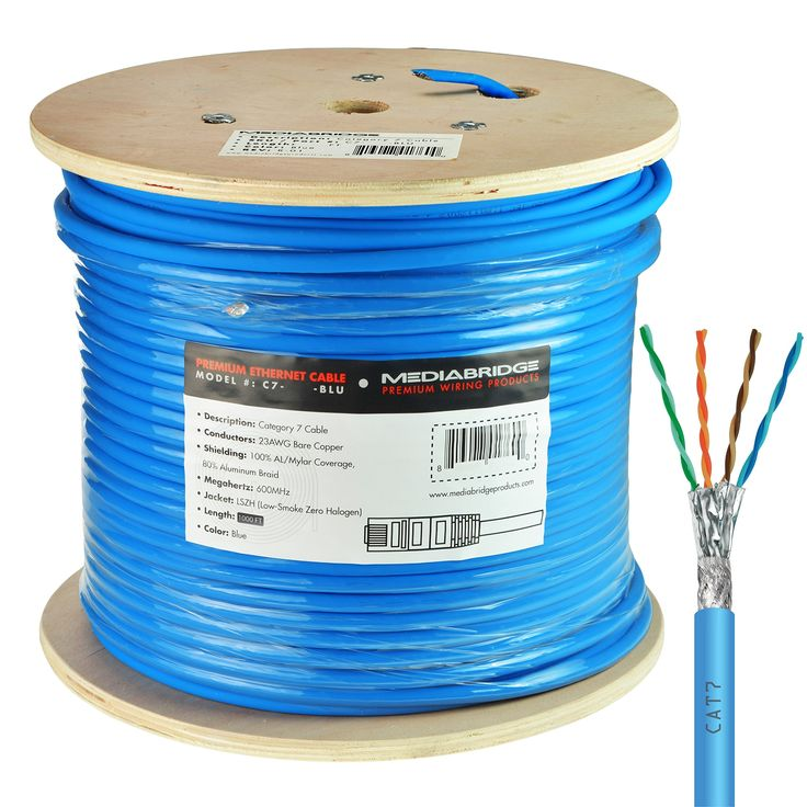 best ideas about cable ethernet cable ethernet mediabridge solid copper cat7 ethernet cable 1000 feet blue low smoke